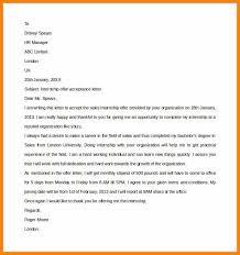 5 End Of Internship Thank You Letter Waa Mood