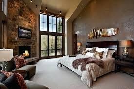 Rustic Elegant Bedroom Designs Traditional Yellow Master Bedroom