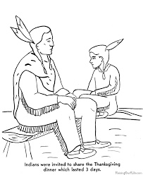 Small Picture Pilgrims Coloring Pages Thanksgiving