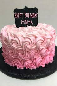Female 21st Birthday Cake Ideas Woman Rosettes Cakes Designs Periskop