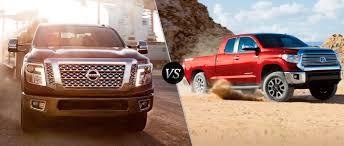 2016 Nissan Titan vs 2016 Toyota Tundra