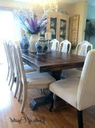 distressed dining set chalk paint round pedestal table with bench kitchen and chairs distr