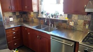 stainless steel countertops with residential stainless steel countertops with concrete countertops cost with stainless steel counter