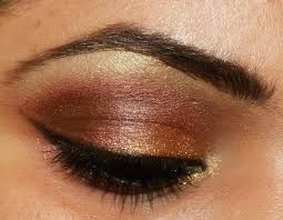 indian bridal eye makeup tutiorial