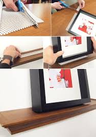 Floating Shelves For Picture Frames Classy Prevent Picture Frames From Sliding Off Floating Shelves UTR