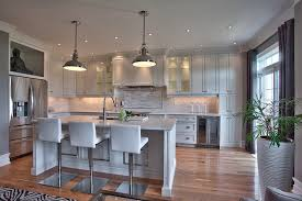Suburban New Home Remodel Contemporary Kitchen Toronto By Simple New Home Interior