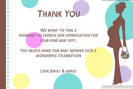 Baby Gift Thank You Note Baby Gift Thank You Note Rome Fontanacountryinn Com
