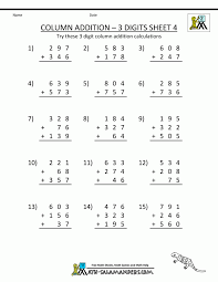 Digit Additionorksheets 2nd Gradeith Regrouping Pdfithout Free On ...