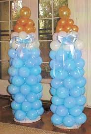 Baby Bottle Balloon Decoration Baby Shower Balloon Art Love the bottles but they have other cute 5