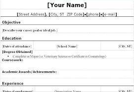 Undergraduate Student Resume Sample Adorable Undergraduate Resume Template Doc Diploma Student Resume Format Doc