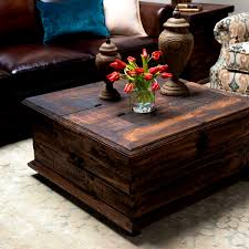 innovative treasure chest coffee table with kitchen agreeable rustic coffee tabledouble trunk weirs