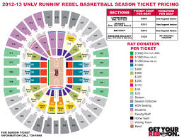 Unlv Rebels Basketball Seating Chart Index Of Images Seatmaps