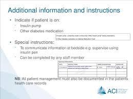 Ppt Adult Standardised Subcutaneous Insulin Prescribing