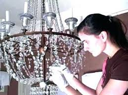 cleaning crystal chandelier how to clean crystal chandelier cleaning also chandeliers 2 vinegar how to clean