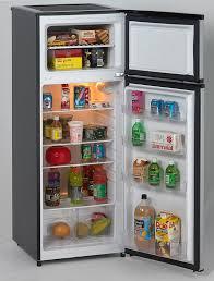 full size refrigerator without freezer. Plain Without 74 CF Two Door Apartment Size Refrigerator  Black WPlatinum Finish  RA7316PST On Full Without Freezer E