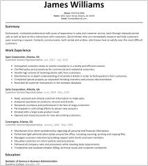 Resume Customer Service Sample Customer Service Representative Resume Examples 60 Customer 3