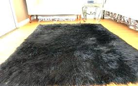 fau mongolian fur rug white faux