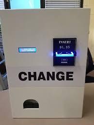 Vending Change Machine Custom Change Machines Vending Tabletop Concessions Restaurant Food