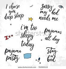 Sleep Quotes Stunning Set Vector Sleep Quotes Vector Illustration Stock Vector Royalty