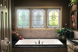 replacement stained glass windows bathroom home choices cost