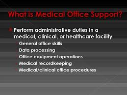 Medical Office Administration Duties Office Administration Program