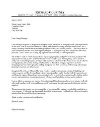 Police Chief Cover Letter 10 Resume Objective Examples Law ...