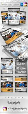 pro services a4 magazine advertisement templates 2 pro services a4 magazine advertisement templates 2 graphicriver a4