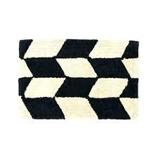 black bathroom rug set white sets x in cream herringbone cotton bath mat for home 0 black bathroom rugs