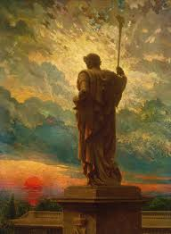 The Emperor, 1912 Painting by James Carroll Beckwith