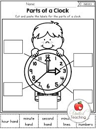 Free Printable Clock Analog Digital Learning Worksheets Blank Clocks ...