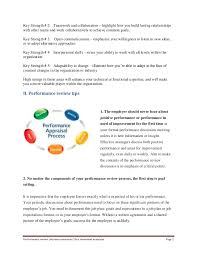 employee strength examples ~ Odlp.co Examples of performance appraisal phrases... examples Page 1; 2.