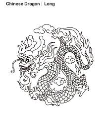 Chinese New Year Dragon Coloring Page Free | New Year Coloring ...