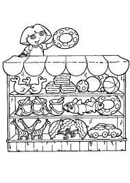 Small Picture Doras beach shop coloring pages Hellokidscom