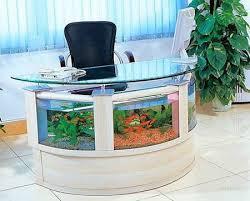 Office Desk Aquarium. I would never leave my office! | Fishes | Pinterest |  Aquariums, Office desks and Desks