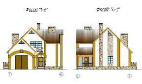 Курсовые и Дипломные проекты Коттеджей Архив проектов домов  Скачать>>> Дипломный Проект на тему Одноквартирный жилой двухэтажный дом