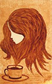 The most comprehensive image search on the web. Pin By Mahe Vicky On Good To The Last Drop Coffee Painting Canvas Coffee Art Drawing Coffee Painting