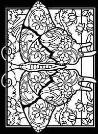 Small Picture Free Mary Stained Glass Window Coloring Pages Gianfredanet