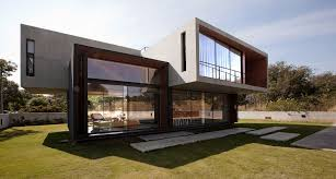 Fresh Futuristic Contemporary House Facade #480