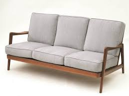 wooden frame sofa with cushions.  Sofa Wood Framed Sofas Home And Textiles In Frame Sofa With Cushions Throughout Wooden F