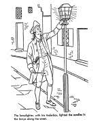 Small Picture Early American Home Life Coloring Page drawings Pinterest