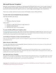 Blank Basic Resume Templates Rome Fontanacountryinn Com