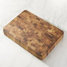 large end grain cutting board block crate and barrel