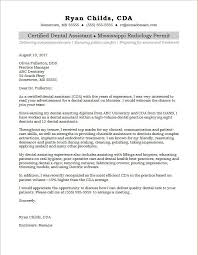 Dental Assistant Cover Letter Samples Dental Assistant And Hygienist