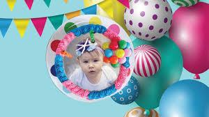 photo on birthday cake cake with photo and name