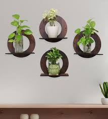 4 wall hanging planter stand