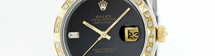 rolex auction men s datejust and submariner rolex watches 14kt two tone onyx and diamond datejust rolex watch auction