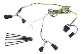trailer wiring harness installation 2004 jeep wrangler video Wrangler Wire Harness curt t connector vehicle wiring harness with 4 pole flat trailer connector jeep wrangler wire harness