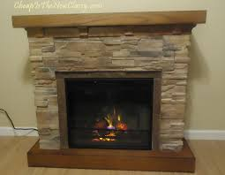 how to assemble an electric fireplace classic flame flagstone fireplace