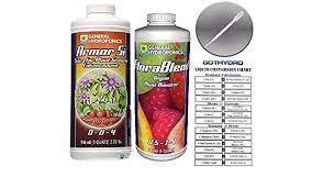 Amazon Com General Hydroponics Armor Si Florablend Vegan