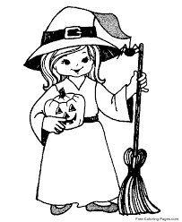 Small Picture printable halloween coloring pages witch coloring home Printable